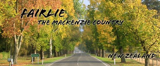 Fairlie New Zealand  city photo : Fairlie The Mackenzie Country. New Zealand
